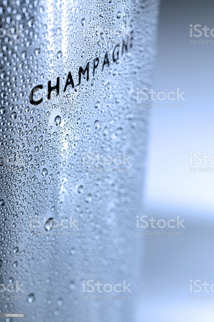 Champagne Bucket royalty-free stock photo