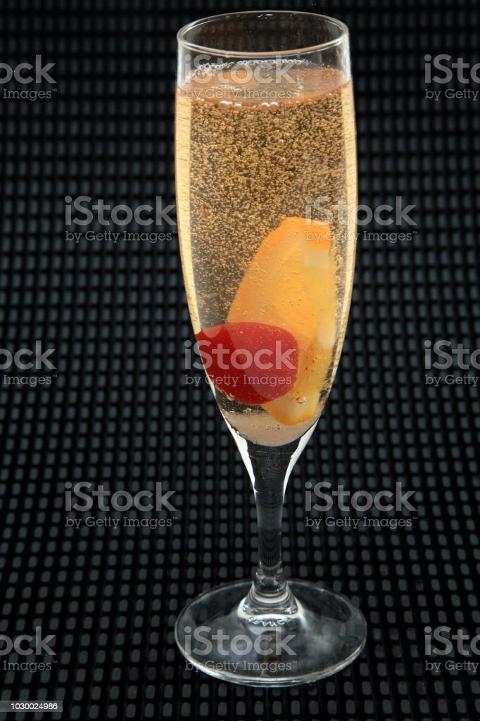 Champagne Cocktail 1 stock photo