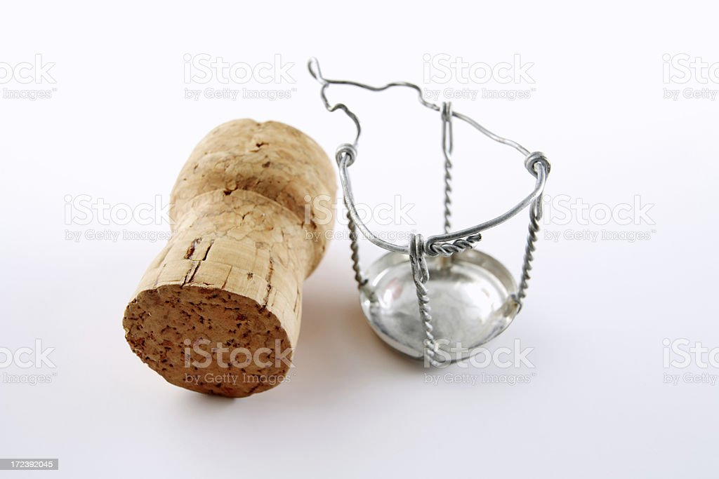 Champagne Cork (serie) royalty-free stock photo