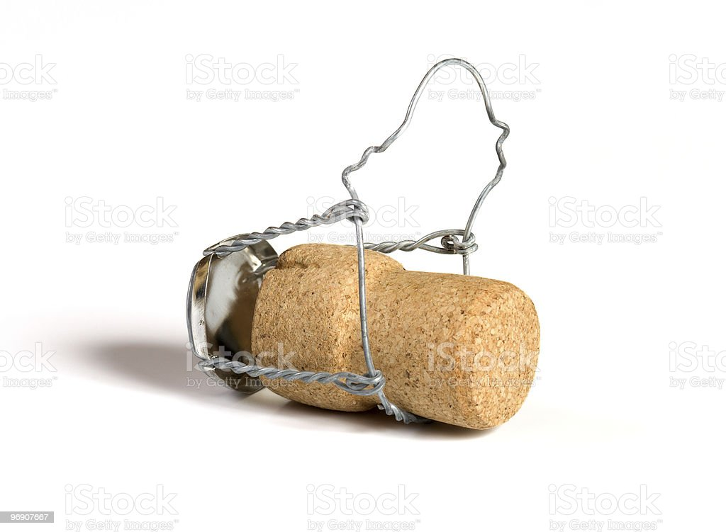 Champagne cork. royalty-free stock photo