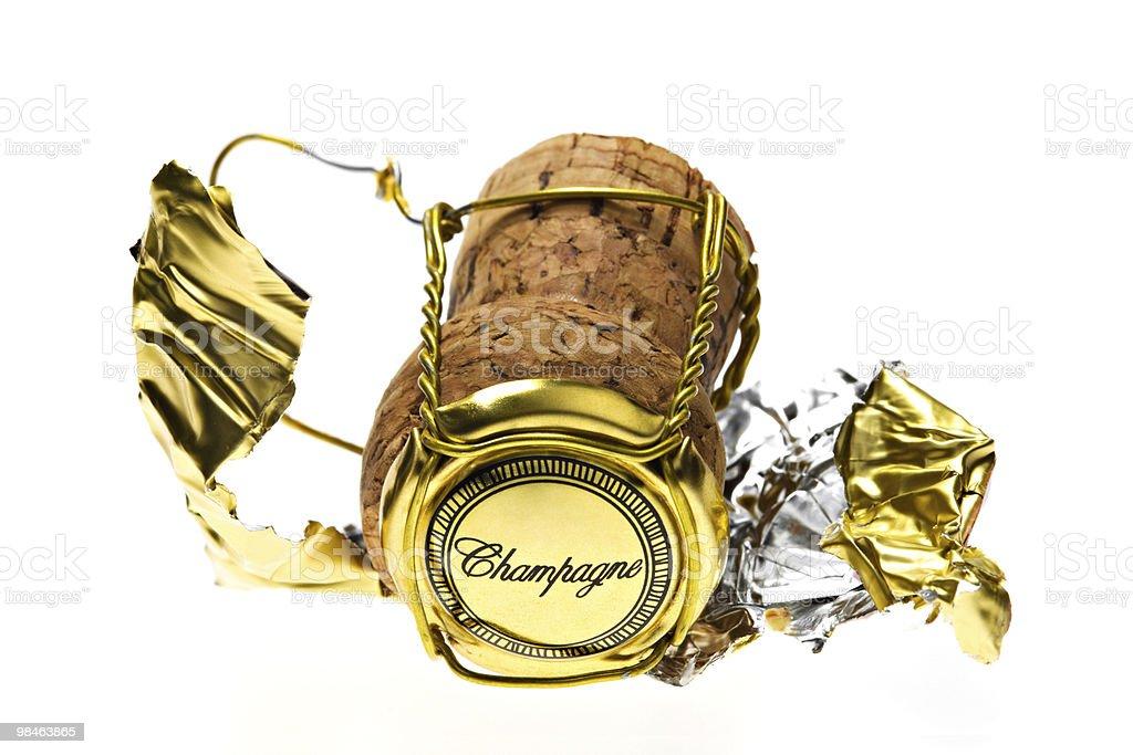 Champagne cork royalty-free stock photo