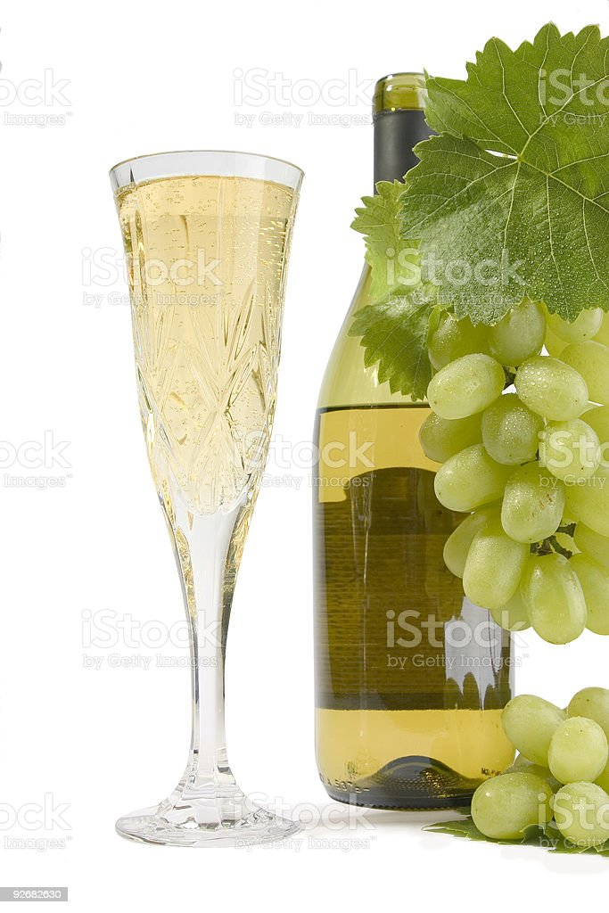 Champagne Flute stock photo
