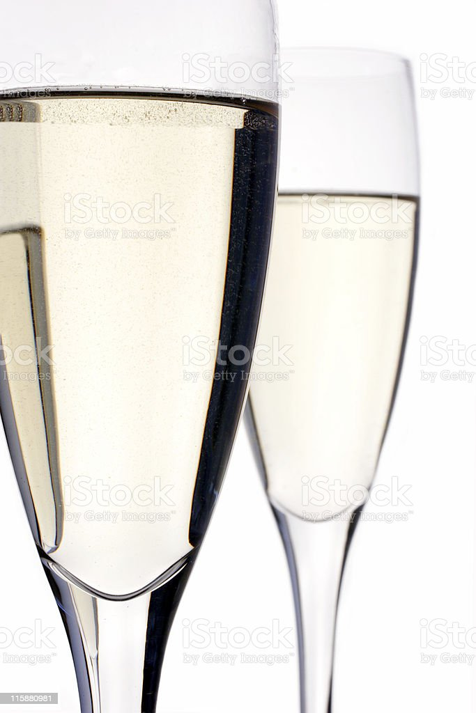 champagne flutes royalty-free stock photo