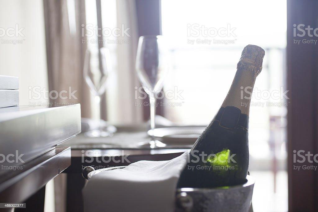Champagne for Celebration stock photo