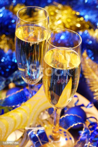 istock champagne for New Year 153750184