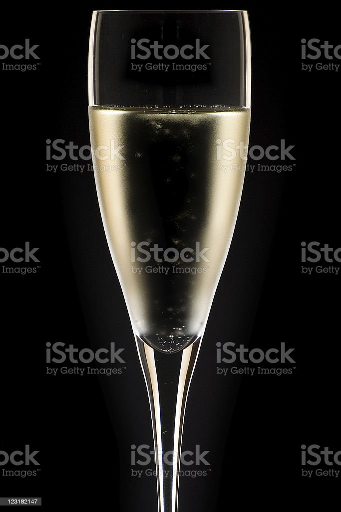 champagne glass close up royalty-free stock photo