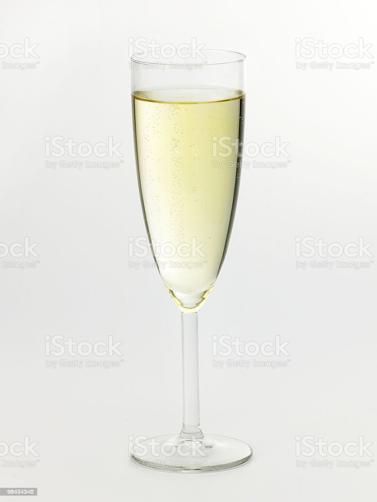 Bicchiere di Champagne foto stock royalty-free