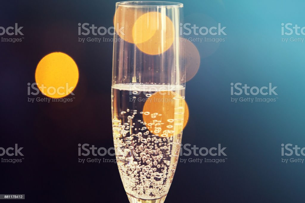 champagne glasses happy new year background royalty free stock photo