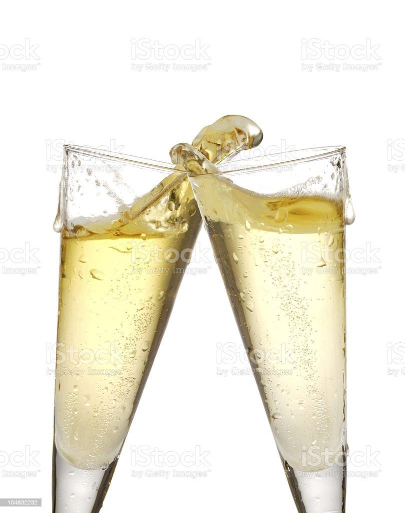 Champagner-Gläser – Foto