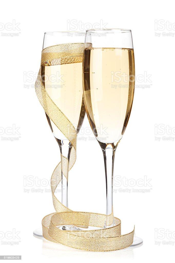 Crystal Champagne Glass For Christmas