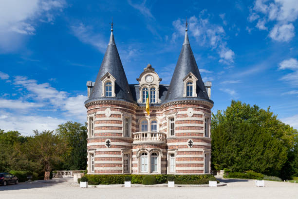 Champagne house Comtesse Lafond in Epernay stock photo