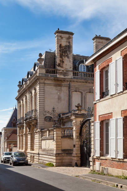 Champagne house Geoffroy in Ao stock photo