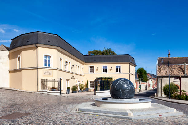 Champagne house Lallier in A stock photo