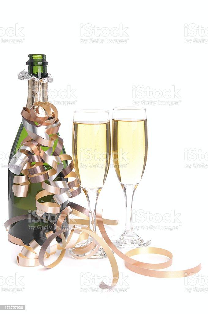 Champagne (XL) royalty-free stock photo