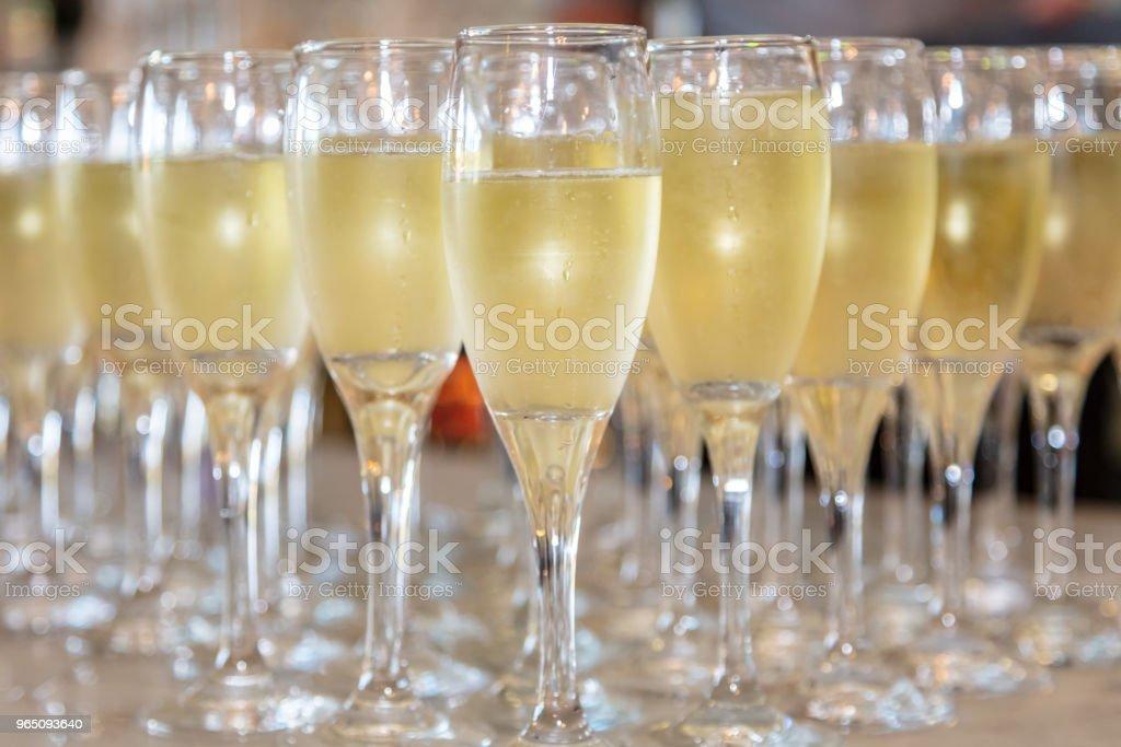 Champagne zbiór zdjęć royalty-free