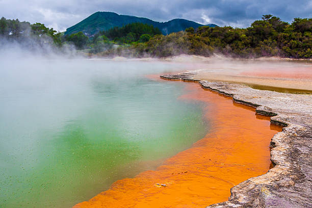 Champagne Pool in Neuseeland – Foto