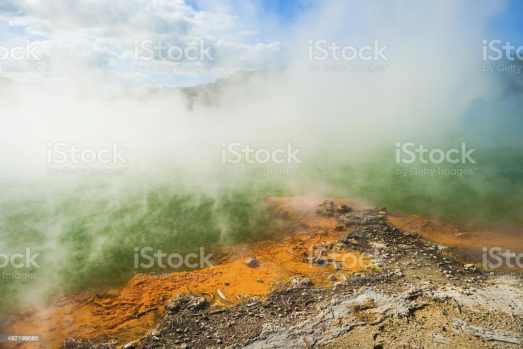 Champagne pool royalty-free stock photo