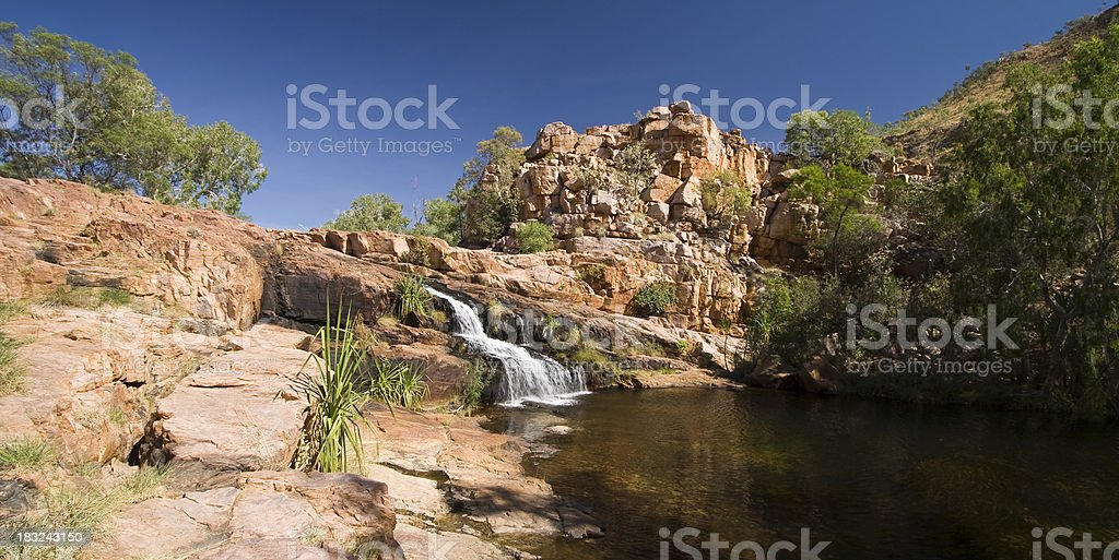 Champagne Springs stock photo