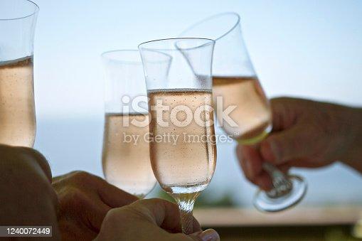 1144550840 istock photo Champagne Toast 1240072449