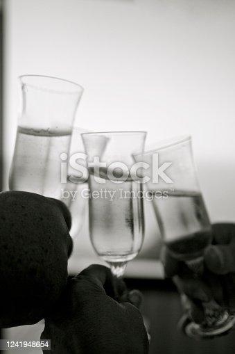 1144550840 istock photo Champagne Toast 1241948654