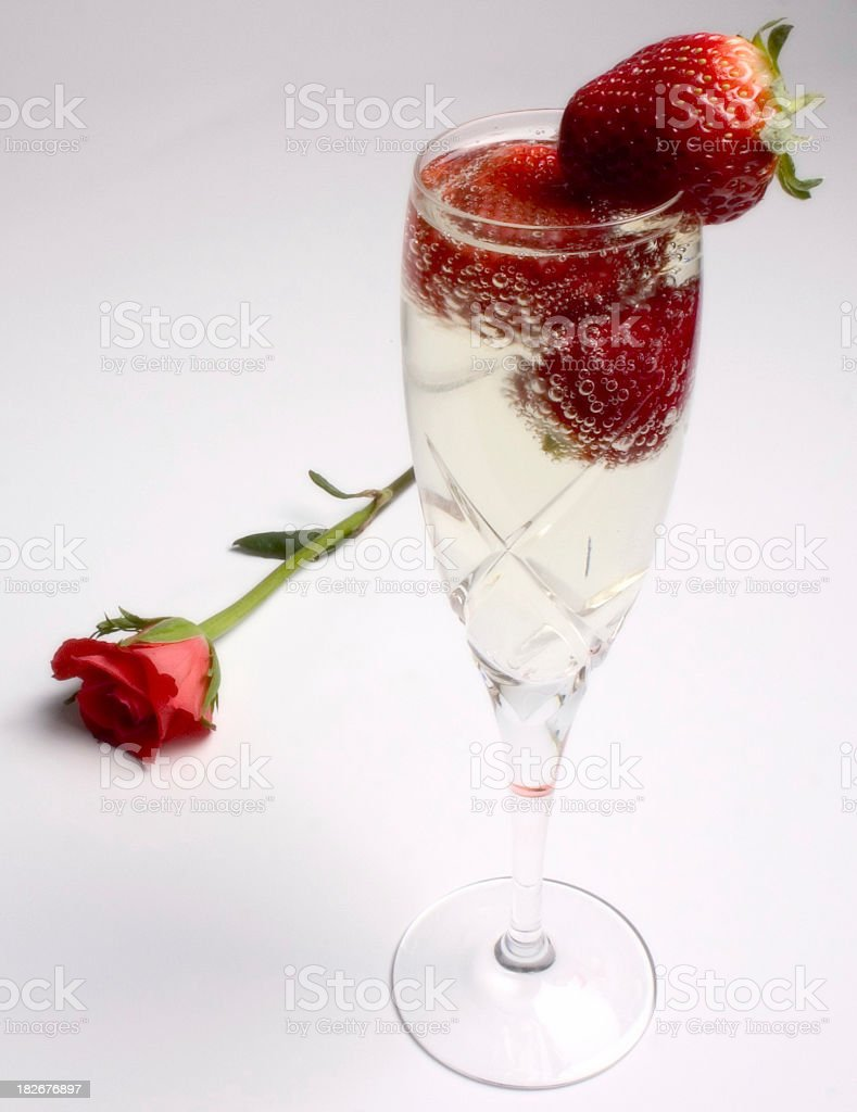 Champagne9 royalty-free stock photo