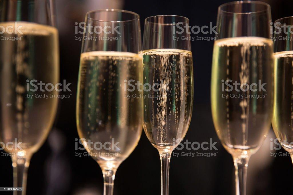 Champagner stock photo