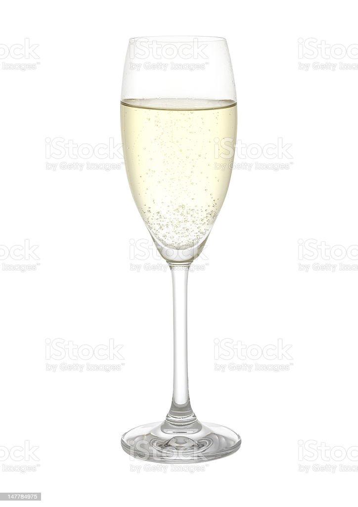 Champagnerglas,Sekt royalty-free stock photo