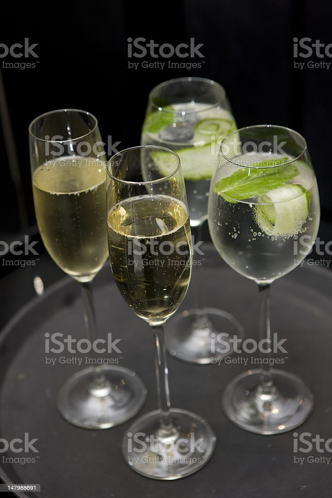 Champagnes royalty-free stock photo