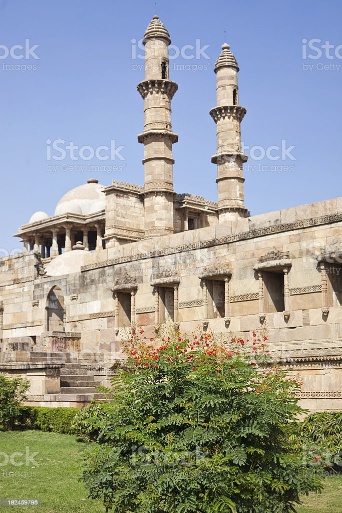 Champaner, Índia foto royalty-free