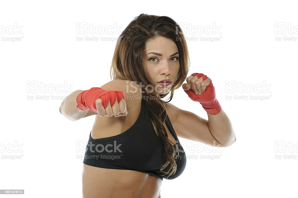 Champion moves royalty-free stock photo