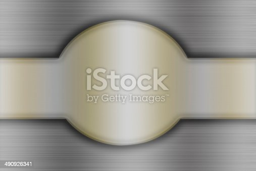 istock Championship belt abstract background 490926341