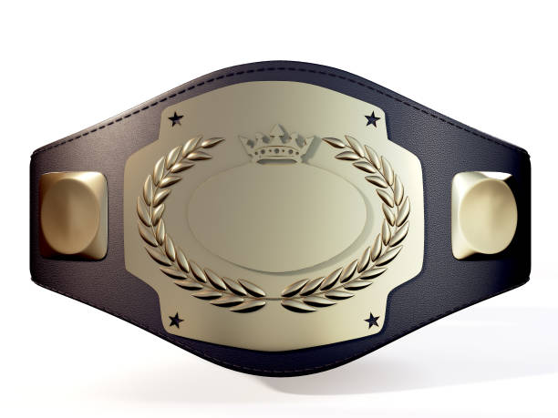 championship belt - wrestling stock photos and pictures