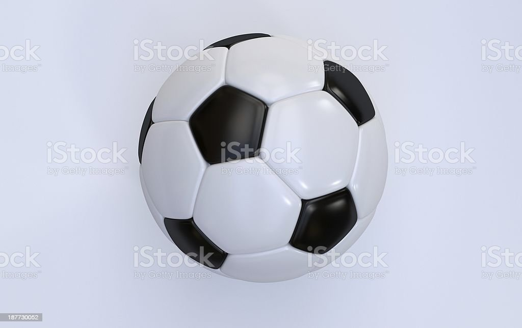 Championship soccer ball royalty-free stock photo