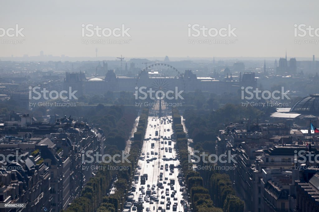 Avenue des Champs-Élysées à Paris - Photo