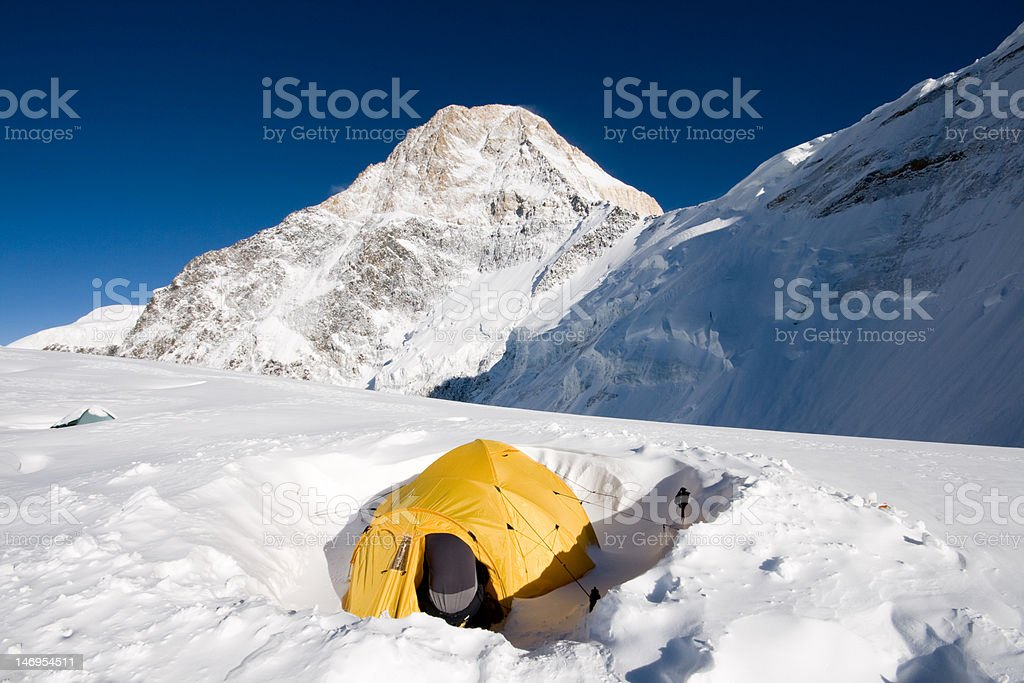 Chan Tengri royalty-free stock photo