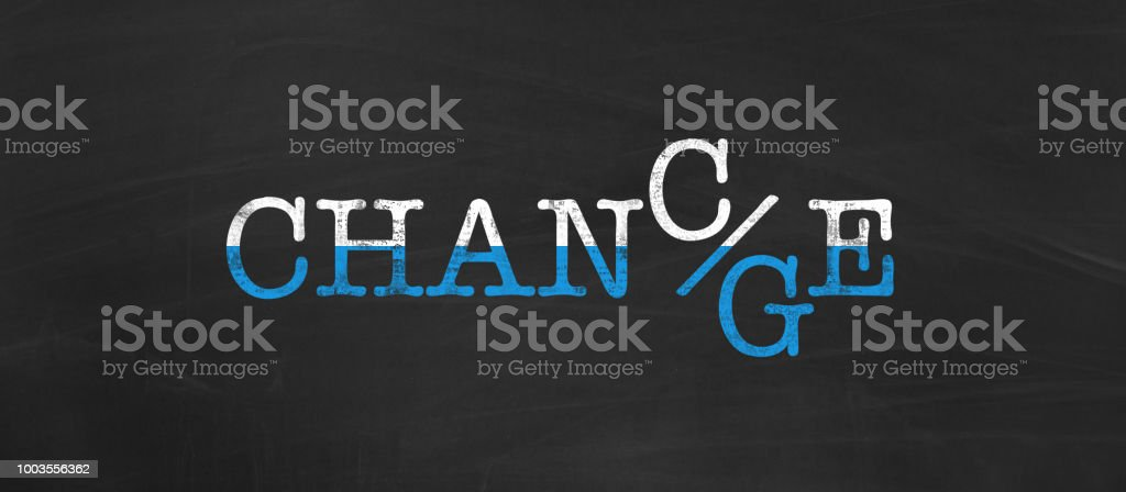 Chance and Change as opportunity for career or personal development stock photo