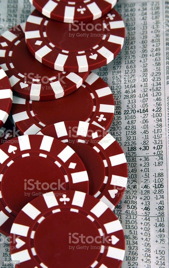 Chance finanziell Lizenzfreies stock-foto