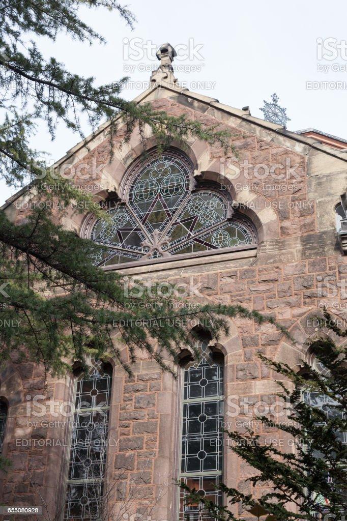 Chancellor Green Hall at Princeton University stock photo