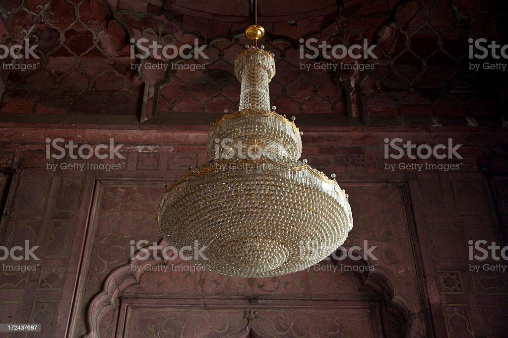 Kronleuchter Indien ~ Kronleuchter im mashid delhi jama stockfoto und mehr bilder von