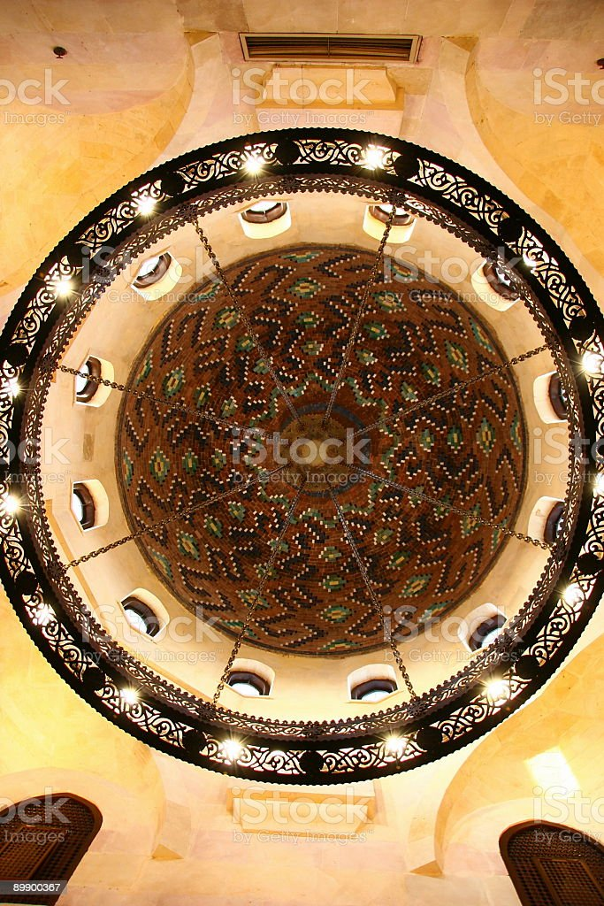 Chandelier islamic style royalty-free stock photo