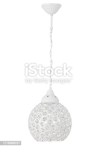 Chandelier isolated