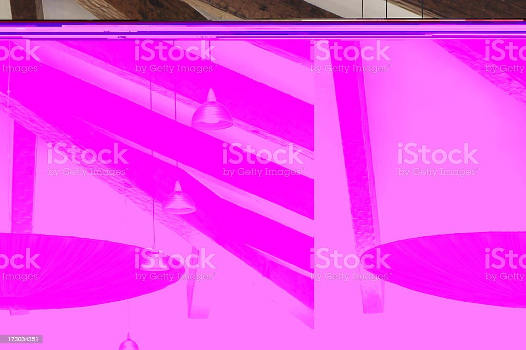 Chandelier Light Ceiling Decor royalty-free stock photo