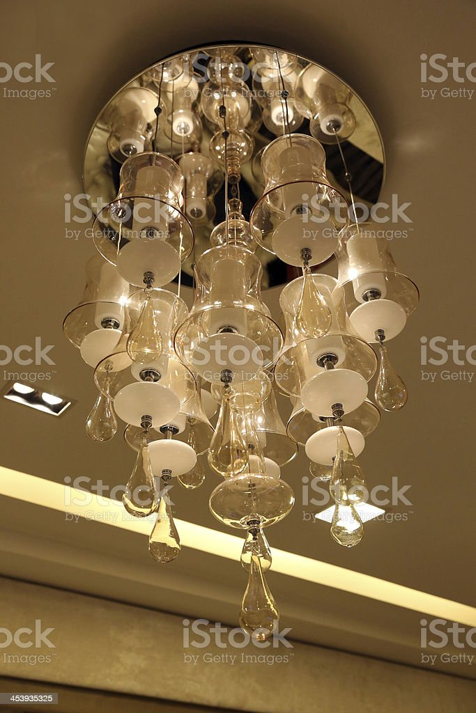 chandeliers royalty-free stock photo