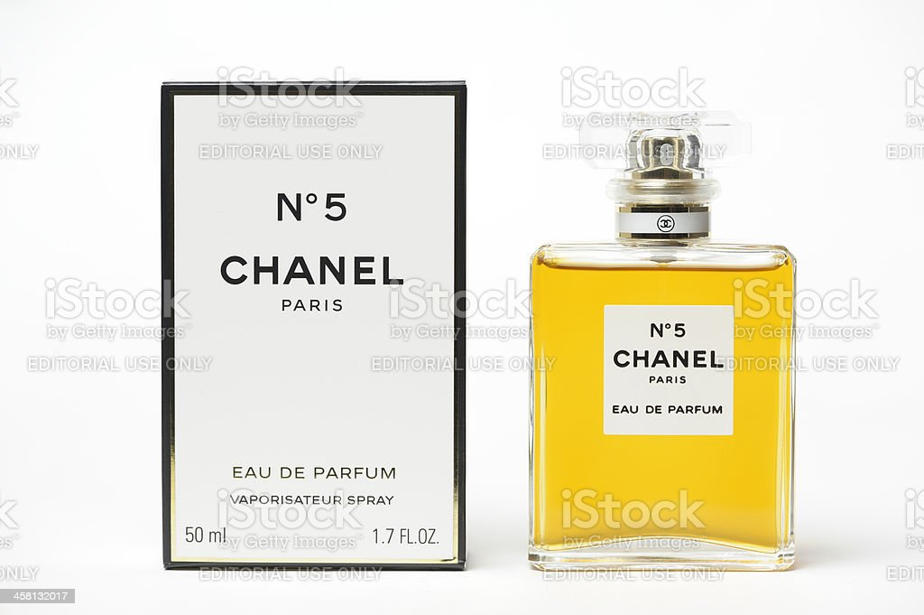 Chanel No 5 Perfume royalty-free stock photo
