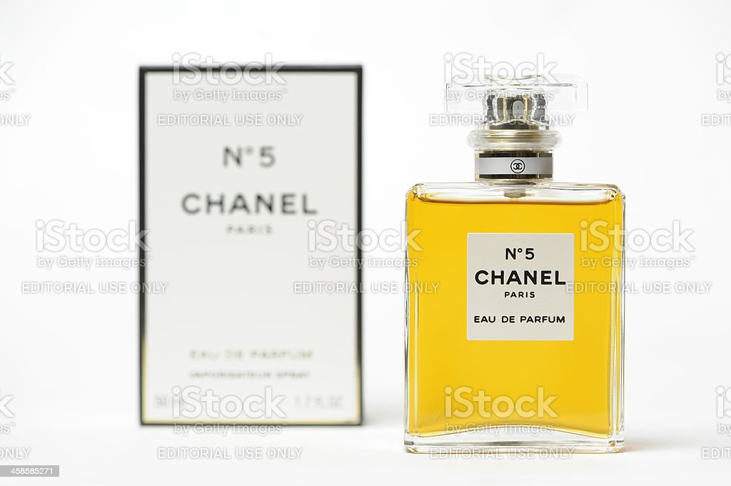 Chanel No 5 Perfume royalty-free stock photo