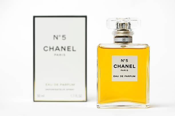 Chanel No 5 Perfume stock photo