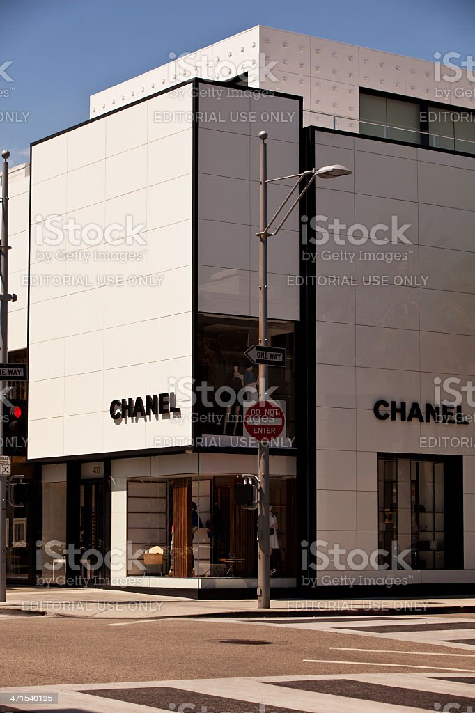 Chanel of Rodeo Drive royalty-free stock photo