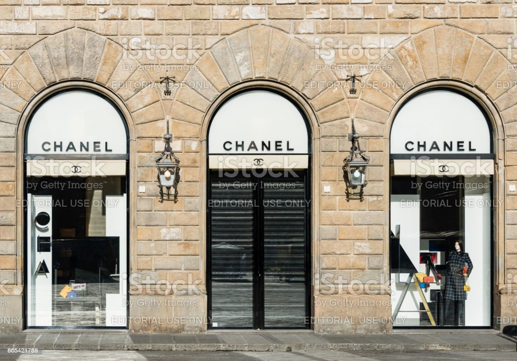 Chanel Store, Florence, Italy