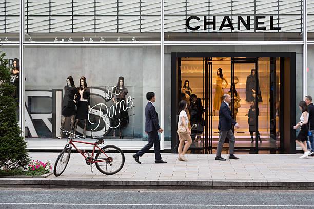 chanel store tokyo - brand name zdjęcia i obrazy z banku zdjęć