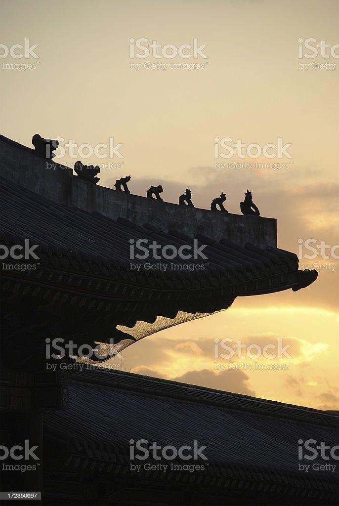 Changdeok Palace royalty-free stock photo